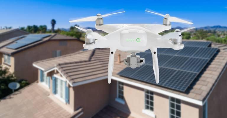 Vermessung Drohne