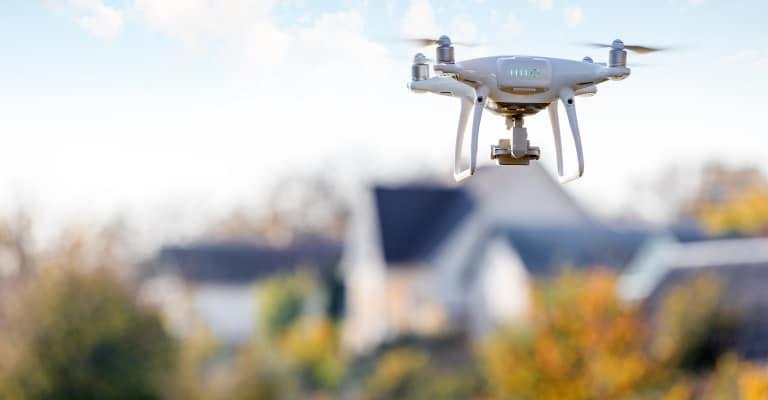 Drohnenflug gewerblich